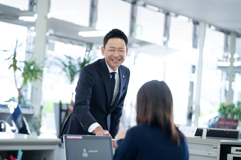 ありがとうございました。<br /> お客様を一生後悔させないように、<br /> これからも福井トヨペットに務めさせていただきます。